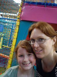 Hazel Morgan with daughter